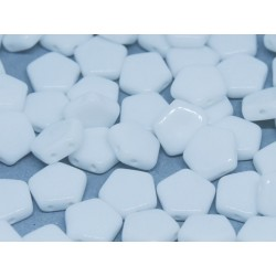 Pego Beads  10 mm Chalk White  -  5 pz