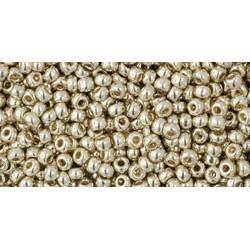 Rocailles Toho 11/0 Permanent Finish Galvanized Aluminium