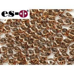 Es-O Beads 5 mm Crystal  Capri Gold Full  - 5 g