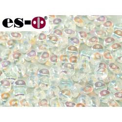 Es-O Beads 5 mm Crystal  Full AB   - 5 g