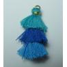 Nappina 3 Balze  4 cm  Tiurchese/Blu/Bluette  - 1 pz