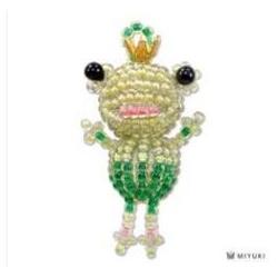 Miyuki Mascotte Kit  Frog  (material kit)  - 1 pz