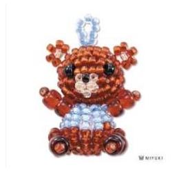 Miyuki Mascotte Kit  Bear  (material kit)  - 1 pz