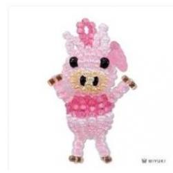 Miyuki Mascotte Kit  Pig  (material kit)  - 1 pz