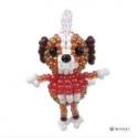 Miyuki Mascotte Kit  Dog  (material kit)  - 1 pz