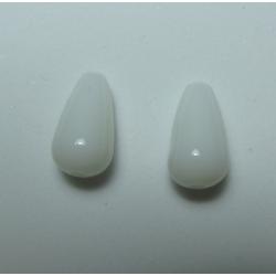 Goccia Resina   12x7 mm  Lila  -  2 pz