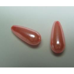 Goccia Abs  17x8 mm Pink  -   2 pz