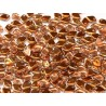 Dragon Scale Beads 1,5x5 mm  Crystal Sunset  -  5 g