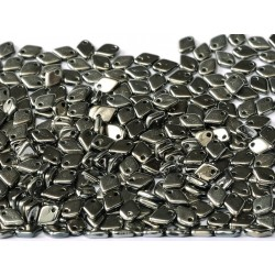 Dragon Scale Beads 1,5x5 mm  Jet Full Chrome  -  5 g