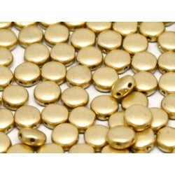 DiscDuo® Beads 6 x 4 mm Aztec Gold - 25 pcs
