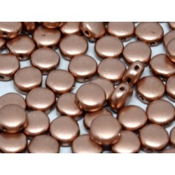 DiscDuo® Beads 6 x 4 mm Vintage Copper - 25 pcs