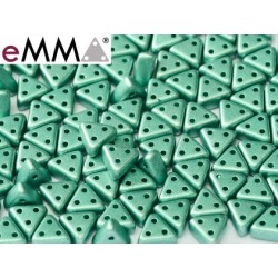 eMMA® Bead  3 x 6 mm Metallic  Emerald  - 5  g