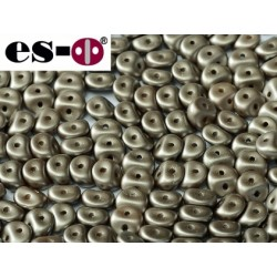 Es-O Beads 5 mm Pastel Light Brown  - 5 g
