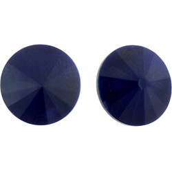 Matubo Rivoli  12 mm Opaque Blue  -  1 pc