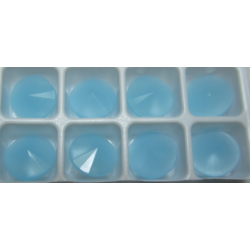 Matubo Rivoli 12 mm Aqua Alabaster - 1 pc