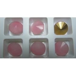 Rivoli  Matubo  14 mm Pink Opal   -  1 pz