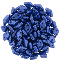 CzechMates Diamond  4 x 6,5 mm  Color Trends Navy Peony    - 5 g