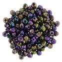 Mezzo Cristallo  2 mm Iris Purple   - 50  Pz