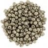 Mezzo Cristallo  3 mm Color Trends Saturated Metallic Hazelnut  - 50  Pz