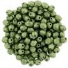 Mezzo Cristallo  4 mm Color Trends Saturated Metallic Greenery - 50  Pz