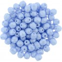 Mezzo Cristallo  4 mm Powdery Pastel Blue   - 50  Pz