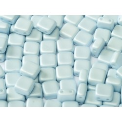 Perline Tile 6 mm  Pastel Blue   -  40 Pz