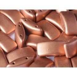 Carrier Beads 17 x 9 mm Vintage Copper  -  5 pz
