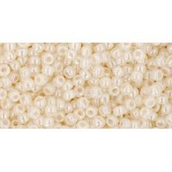 Toho Round 11/0 Ceylon Light Ivory  - 10 g