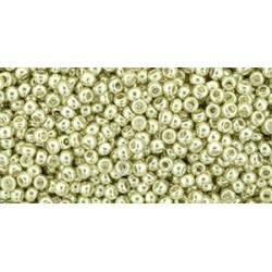 Toho Round 11/0 Metallic Hematite - 10 g