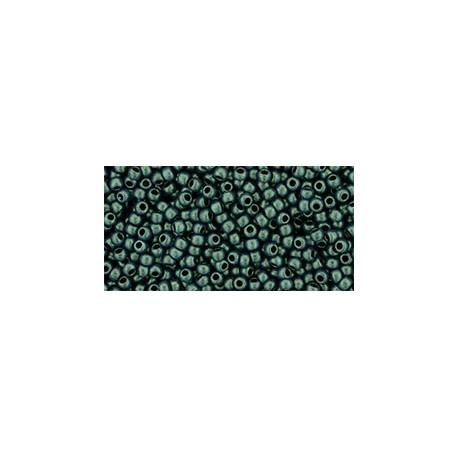 Toho Round 11/0 Hybrid Metallic Suede Light Green - 10 g