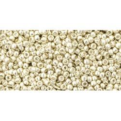 Toho Round 15/0 Galvanized Aluminium - 10 g