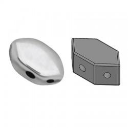 PAROS® par Puca® 7 X 4 mm Silver - 10 g