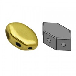 PAROS® par Puca® 7 X 4 mm Silver - 1 0 g