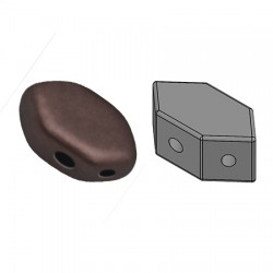 PAROS® par Puca®  7 X 4d  mm Dark Bronze Mat   - 1 0 g