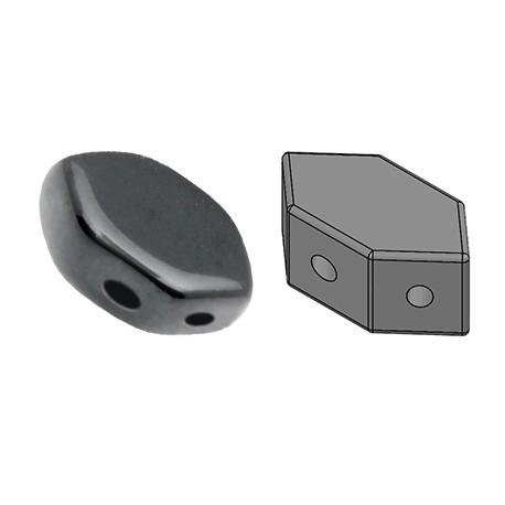 PAROS® par Puca® 7 X 4 mm Jet Hematite - 10 g