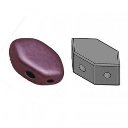 PAROS® par Puca®  7 X 4  mm Metallic Mat Dark Violet  - 10 g