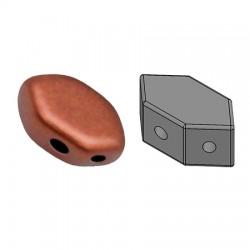 PAROS® par Puca®  7 X 4  mm Bronze Gold Mat   - 10 g