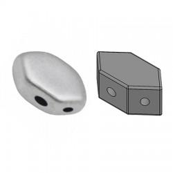 PAROS® par Puca®  7 X 4  mm Silver Aluminium  Mat   - 10 g