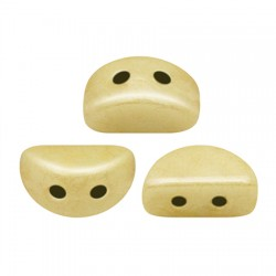 KOS® par Puca®  6 X 3  mm Opaque Ivory  Ceramic Look - 10 g