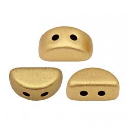 KOS® par Puca®  6 X 3  mm Light Gold Mat - 10 g