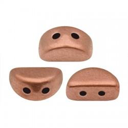 KOS® par Puca®  6 X 3  mm Copper Gold Mat - 10 g