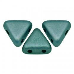 Khéops® par Puca® 6mm  Metallic Mat Green Turquoise  - 5 g