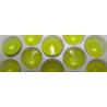 Rivoli Vetro  14 mm  Crystal Lemon  - 1 pz