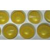 Rivoli Vetro  14 mm  Crystal Ochre - 1 pz