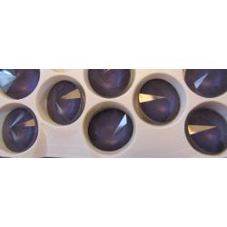 Rivoli Vetro  14 mm  Crystal Dark Violet  - 1 pz
