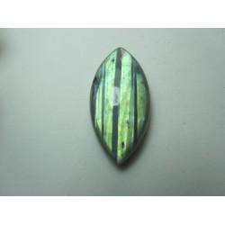 Cabochon Labradorite Naturale Navetta 36 x 18 mm - 1 pz