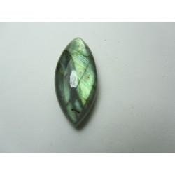 Cabochon Labradorite Naturale Navetta  35 x 16 mm - 1 pz