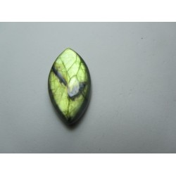 Natural  Labradorite  Horse Eye Cabochon   30 x 17 mm - 1 pc