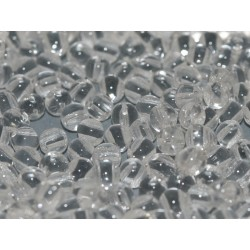 RounDuo® Beads 5 mm Crystal - 30 pz
