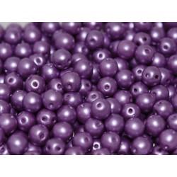 RounDuo® Beads 5 mm Pastel Lila  - 30 pz
